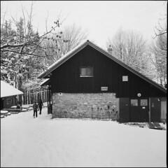 ** (Koprek) Tags: yashicamat124g fomapan 100 film 6x6 ivančica croatia snow winter january 2019