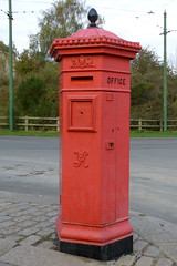 Beamish Town Penfold Pillar Box P1430533mods (Andrew Wright2009) Tags: beamish open air museum county durham england uk town 1920s penfold pillar box post