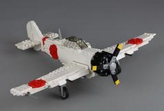 Mitsubishi A6M Zero by Peter Blackert (Lasse Deleuran) Tags: airplane lego