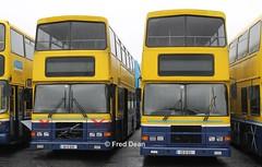Dublin Bus RV629/621 (99D629/621). (Fred Dean Jnr) Tags: dublinbus volvo olympian alexander r rv629 rv621 99d629 99d621 broadstonedepotdublin february2013 busathacliath dublinbusyellowbluelivery buseireannbroadstonedepot broadstone dublin
