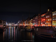 Nyhavn Nights 8/52 2019 (amipal) Tags: 175mm capital city copenhagen denmark europe holiday lowlight manuallens night travel urban voigtlander nyhavn canal riverside social bar restaurant colour photo52 photoaweek