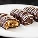 Closeup of Chocolate Zebra homemade cookies