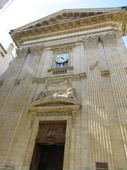 Neoclassical facade, Église Saint-Polycarpe, Lyon, France (Paul McClure DC) Tags: lyon france july2017 auvergnerhônealpes architecture historic church lacroixrousse
