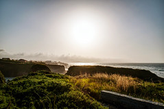 Atardecer lucense (ccc.39) Tags: galicia lugo mar cantábrico costa playa atardecer sol sunset shore cosat sea seascape