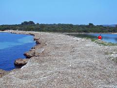 Near Veli rat (Vid Pogacnik) Tags: hrvatska croatia dalmatia adriatic dugiotok coast sea velirat isthmus landscape biking