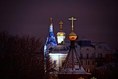 The Holy Trinity (prokhorov.victor) Tags: вечер город церковь крест храмы улица