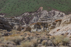 Slash and Gash (davidseibold) Tags: america cloud desert geologicalformations hagencanyonnaturetrail jffickr mountain nature photosbydavid postedonflickr postedonmewephotographers redrockcanyonstatepark sedimentaryrock unitedstates usa californiacity california us