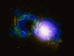 Storm Rages in Cosmic Teacup (NASA's Marshall Space Flight Center) Tags: nasa nasas marshall space flight center msfc chandra xray observatory cxo solar system beyond galaxy stars astronomy astrophysics black hole supermassive quasar