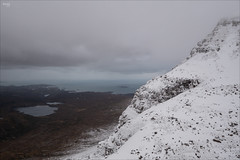 Quinag (fixedfocallength) Tags: gx9 inverpolly leica leicadgsummilux15mm117 lumix mft microfourthirds panasonic quinag scotland snow m43