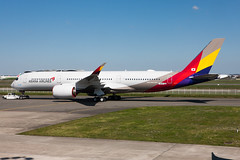 Asiana Airlines A350 (Martyn Cartledge / www.aspphotography.net) Tags: a350900 a350xwb a380 aero aerodrome aeroplane air airbus aircraft airfield airline airliner airplane airport allnippon asianaairlines aspphotography aviation cartledge civil civilairline civilairliner fwznt flight fly flying flyinghonu flywinglets jet martyn plane runway transport wings wwwaspphotographynet wwwflywingletscom asp photography