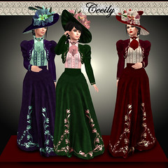 Cecily Victorian / Belle Epoque (CogandFleur) Tags: victorian edwardian turnofthecentury belleepoque