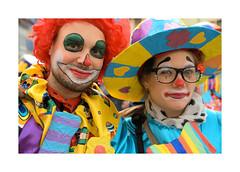 Cavalcade carnaval Colmar_IMG_3509 -1 (jeanmichelchristian) Tags: alsace colmar portrait couple cavalcade fête clown couleurs