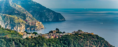 Corniglia - Cinque Terre (David Hamments) Tags: flickrunitedaward manarolainthedistance italy cinqueterre cornigliatovernazzahike trek walk