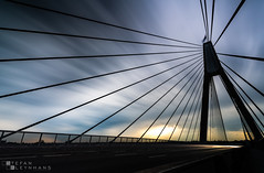 Anzac Bridge - Sydney, Australia (StefanKleynhans) Tags: anzac bridge sydney australia nsw sunset nikon1635mmf4 nikond850 light colour clouds lines leadinglines longexposure nisifilters