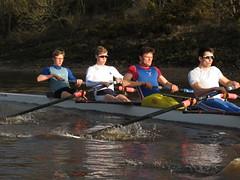 IMG_1120 (NUBCBlueStar) Tags: rowing remo rudern river aviron february march star university sunrise boat blue nubc sculling newcastle london canottaggio tyne hudson thames sweep eight pair