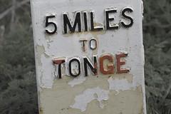 NearTonge (Tony Tooth) Tags: nikon d7100 nikkor 55300mm milepost sign swarkestone derbyshire