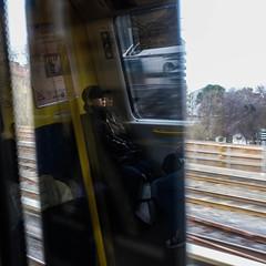 Subway thoughts (StreetMatt) Tags: spegling bildexperiment gatufoto tunnelbanan