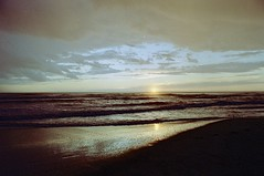 Sunset in Versilia (michele.palombi) Tags: versilia film 35mm 400asa analogic tuscany sunset