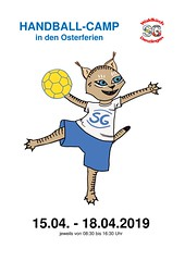"Plakat1 Handballcamp Ostern 2019 • <a style=""font-size:0.8em;"" href=""http://www.flickr.com/photos/153737210@N03/47588376821/"" target=""_blank"">View on Flickr</a>"