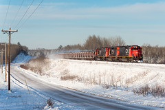 Taconite and Snow (shawn_christie1970) Tags: industrialtownship minnesota unitedstates us snow winter ble900 canadianpacificrailway train railroad taconite emd sd402 dmir409 ic6263 sd403 rebuild