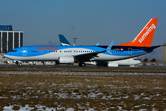 C-FTZD (Sunwing Airlines - TUI) (Steelhead 2010) Tags: sunwingairlines tui boeing b737 b737800 yyz creg cftzd