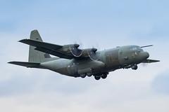 ZH887 C-130J Hercules C5 RAF Prestwick 13.11.17 (Robert Banks 1) Tags: zh887 lockheed c130j c130 c30j hercules c5 raf royal air force prestwick egpk pik