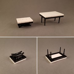 Tables (MOCs created for New Elementary) (betweenbrickwalls) Tags: lego afol moc experiment creative table furniture furnituredesign legofurniture design