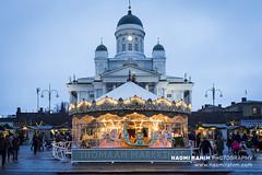 Christmas in Helsinki (Naomi Rahim (thanks for 4 million visits)) Tags: helsinki finland 2018 europe europa christmas xmas scandinavia night lights travelphotography travel nikon nikond7200 wanderlust lowlight market architecture