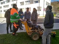 Visita a Espacios Verdes de Bilbao (Derio Nekazaritza Eskola BHI) Tags: bilbao espaciosverdes jardineria lorezaintza ikasleak alumnado bizkaia