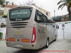 "2018 031004 VOLVO B11R EURO6 IRIZAR i6 COACH VERNE HERMES BUS  MADRID 58 5317 JYK IN FRIGLIANA (Andrew Reynolds transport view) Tags: europe spain andalucia transport bus coach transit passenger omnibus diesel ""mass transit"" 2018 031004 volvo b11r euro6 irizar i6 verne hermes madrid 58 5317 jyk in frigliana"