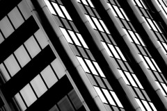 (jfre81) Tags: black white blackandwhite monochrome diagonal lines abstract composition pattern texture geometric grey downtown columbus ohio oh city urban canon rebel xs eos james fremont jfre81