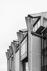 Business in sandstone (FrédericLouis) Tags: selecteren royale belge office building architecture bnw blackandwhite facade sandstone ghent gent belgium