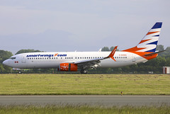 C-GOWG (QC PHOTOGRAPHY) Tags: dublinairport ireland may 31st 2018 smartwings sunwings airlines b737800swl cgowg