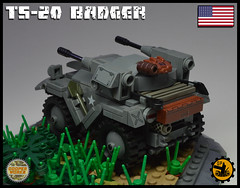 TS_20_BADGER_02 (Cooper Works 70) Tags: lego ww2 wwii custom stickers military cooper works
