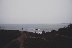 If all you've ever wanted was a dream (gabyuchi1) Tags: mood moody ocean people explore color colors gloomy fog nature