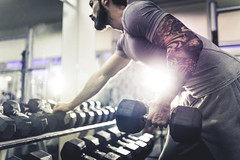 The importance of using dumbbell in aerobic exercise (Wavemyfitness) Tags: the importance using dumbbell aerobic exercise fitness exercises