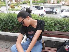 DSCN8885 (Avisheena) Tags: avisheena model aesthetic world hello outfit photograph sunglasses face bun