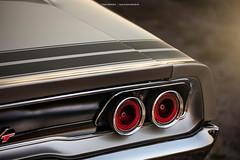 silver 1968 Dodge Charger R/T - Shot 6 (Dejan Marinkovic Photography) Tags: 1968 dodge charger mopar muscle car american classic detail cardetail chrome taillight rearlight