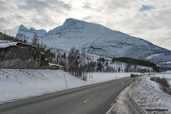 Highway E8 (kevin-palmer) Tags: norway arctic europe winter march snow snowy mountains nikond750 road highwaye8 cloudy overcast tamron2470mmf28 scandinavianmountains cold oteren tromscounty