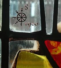 [73656] York : Merchant Adventurers' Hall - Harry Stammers (Budby) Tags: york northyorkshire hall guild gild window stainedglass