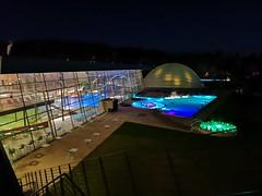 Lichter beim schwimmen
