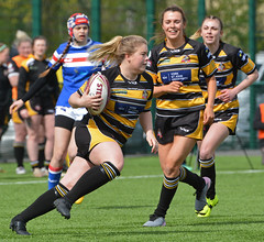 Best Foot Forward (Feversham Media) Tags: yorkcityknightsladiesrlfc wakefieldtrinityladiesrlfc womenssuperleague womensrugbyleague rugbyleague york yorkstjohnuniversity