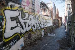 Bolivar Alley (pasa47) Tags: 2019 march fujifilm fujixe1 1855mm spring cincinnati ohio oh alley pendleton graffitialley bolivaralley