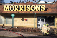 2018-11-08_Morrisons supermarket fire Folkestone007 (Kent Fire and Rescue Service) Tags: incident folkestone supermarket morrisons fire smoke