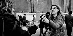 Thanks for the photo. (Baz 120) Tags: candid candidstreet candidportrait city contrast street streetphotography streetphoto streetcandid streetportrait strangers rome roma ricohgrii europe women monochrome monotone mono noiretblanc bw blackandwhite urban life portrait people italy italia grittystreetphotography faces decisivemoment