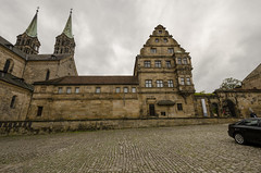 Dom Platz Bamberg 2 (rschnaible) Tags: bamberg germany europe outdoors street photography building architecture old historic dom platz