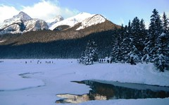 Lake Louise Parks Canada (Mr. Happy Face - Peace :)) Tags: lakelouise fairmount hotel chateau mountains snowfall rockies albertabound canada art2019 scenery landscape 25years activities hockey strangers weather