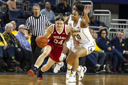 JD Scott Photography-mgoblog-IG-Michigan Women's Basketball-University of Indiana-Crisler Center-Ann Arbor-2019-12
