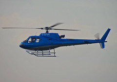 G-SPVK Aerospatiale AS.350B Ecureuil (SteveDHall) Tags: aircraft airport aviation airfield aerodrome manchesterbarton barton bartonaerodrome cityairportmanchester 2019 generalaviation ga helicopter gspvk aerospatiale as350b ecureuil aerospatialeas350becureuil aerospatialeas350b as350becureuil
