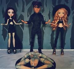 Bit#ch Crafting (MaxHills) Tags: dolls witchcraft ooak reroot noir witch handmade craft